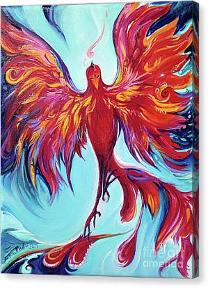 Phoenix Flight Canvas Print