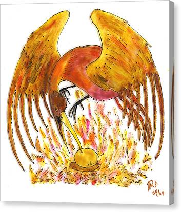 Phoenix Canvas Print by Phil Strang