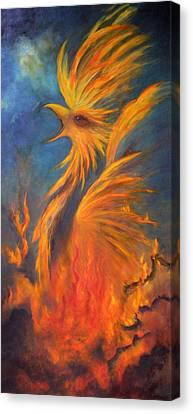 Phoenix Rising 1 Canvas Print