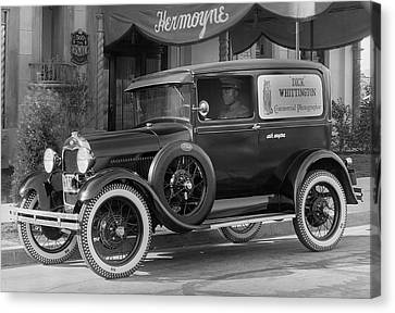Photographer's 1928 Truck Canvas Print by Underwood Archives
