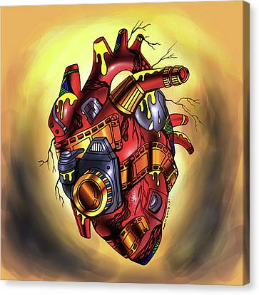 Canvas Print - Photographer's Heart by Kenal Louis