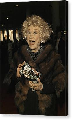 Phyllis Diller Canvas Print by Nina Prommer