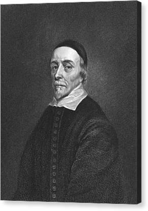 Physician William Harvey Canvas Print by Underwood Archives