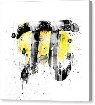 Pi Canvas Print by Andrew Billings