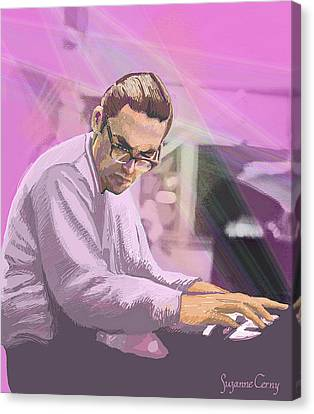 Pianist 2 Canvas Print