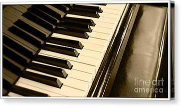 Piano Canvas Print by Charuhas Images