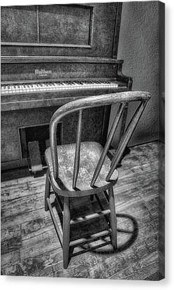 Piano - Music Canvas Print by Nikolyn McDonald