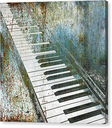 Piano Piano Canvas Print