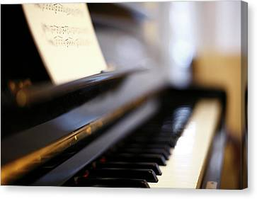 Piano With Blur Canvas Print by Photo by Giuseppe Amato