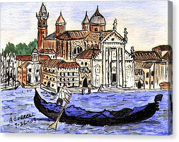Piazzo San Marco Venice Italy Canvas Print