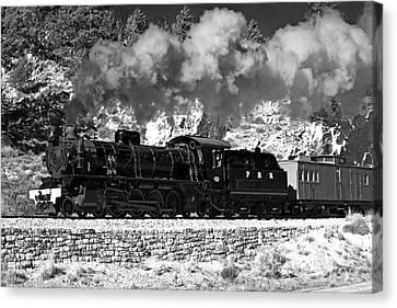 Pichi Richi Railwaytrain Canvas Print by Bill  Robinson