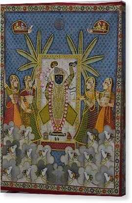 Pichwai 2 Canvas Print