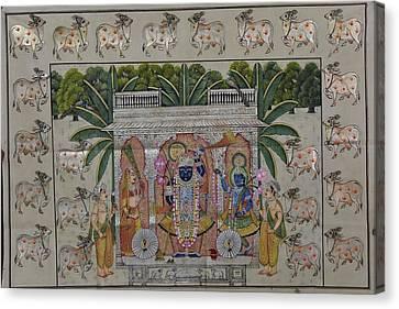 Pichwai 4 Canvas Print