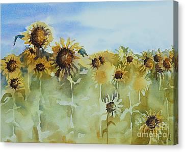 Pick Me Canvas Print by Gretchen Bjornson