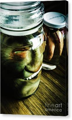 Creepy Canvas Print - Pickled Monsters by Jorgo Photography - Wall Art Gallery