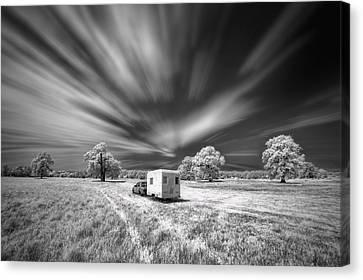 Infrared Canvas Print - Picnic by Piotr Krol (bax)