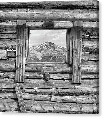 Picture Window #2 Canvas Print by Eric Glaser