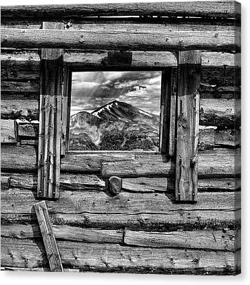 Canvas Print featuring the photograph Picture Window #3 by Eric Glaser