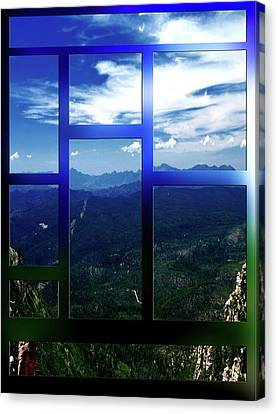 Picture Window Canvas Print