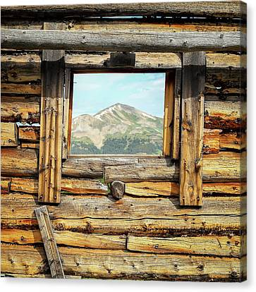 Picture Window #1 Canvas Print by Eric Glaser