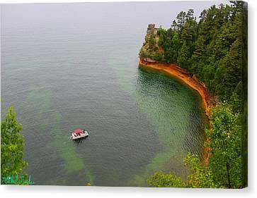 Pictured Rocks Lake Superior Canvas Print
