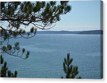 Pictured Rocks National Lakeshore Canvas Print by Johnny Yen