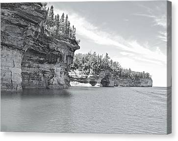 Pictured Rocks Shoreline National Park Canvas Print by Michael Peychich