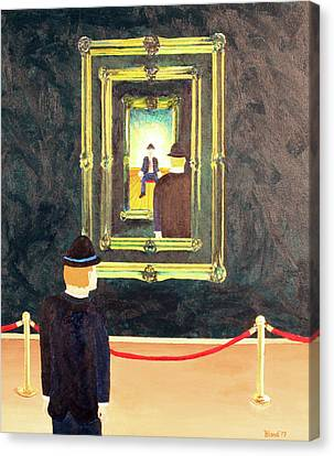 Pictures At An Exhibition Canvas Print by Thomas Blood