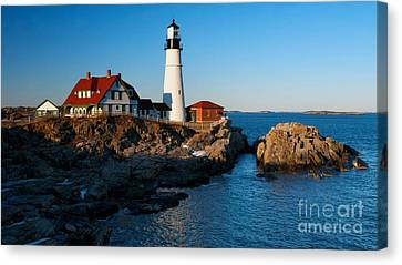 Picturesque Lighthouse II Canvas Print by Hideaki Sakurai