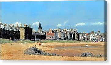 Picturesque North Berwick Scotland Canvas Print