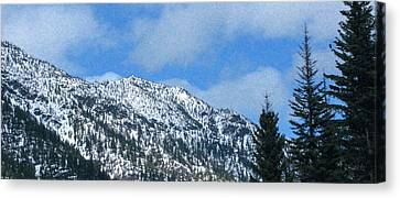 Picturing Beautiful Horizons Methow Valley Motivational Artwork  Canvas Print by Omaste Witkowski