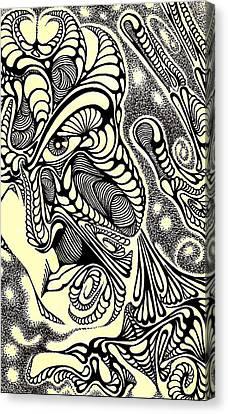 Pieces Canvas Print by Jeff DOttavio