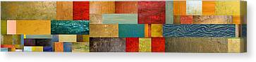 Pieces Project V Canvas Print by Michelle Calkins