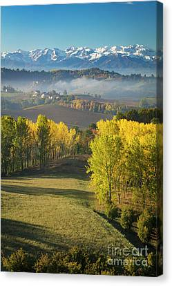 Canvas Print featuring the photograph Piemonte Morning by Brian Jannsen