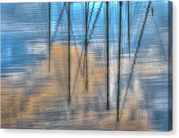 Pier 38 Canvas Print