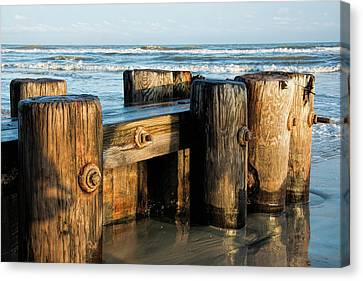 Pier Perspective Canvas Print