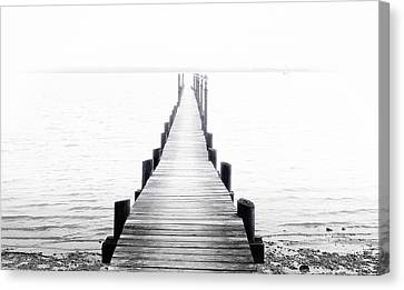 Pier To Enlightenment Canvas Print by Daniel Hagerman