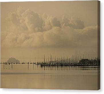Canvas Print - Pier by Vari Buendia
