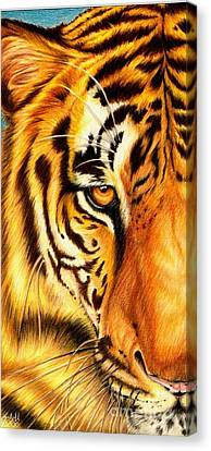 Piercing Glance Canvas Print