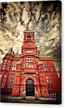 Distortion Canvas Print - Pierhead by Meirion Matthias