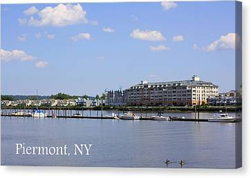 Canvas Print - Piermont Ny by DazzleMe Photography