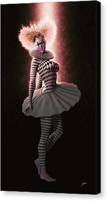 Pierrette From New York Canvas Print by Joaquin Abella