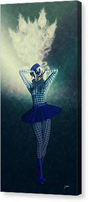 Pierrette La Estrella Canvas Print
