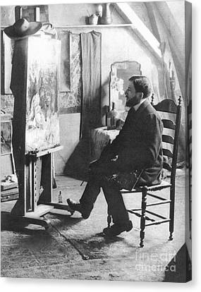 Piet Mondrian (1872-1944) Canvas Print by Granger