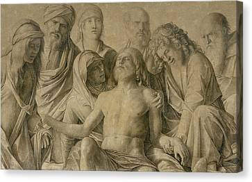 Pieta Canvas Print by Giovanni Bellini