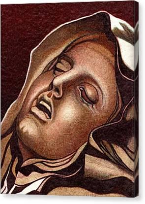 Pieta Canvas Print by Jerry  Stith