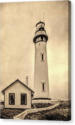Pigeon Point Light Station Pescadero California Canvas Print