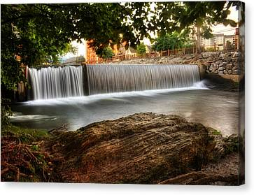 Pigeon River At Old Mill Canvas Print