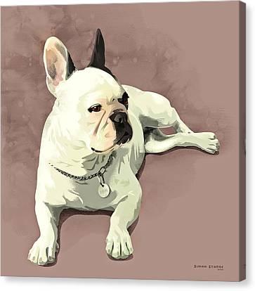 Piglet Canvas Print by Simon Sturge