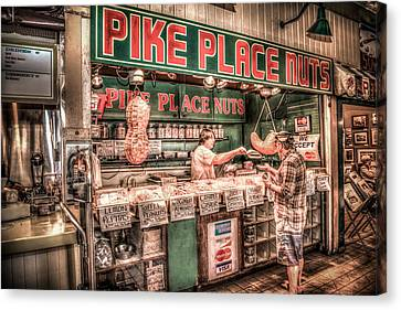 Pike Place Nuts Canvas Print